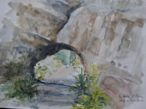 page 1 Claire lightLes Arches St Pierre